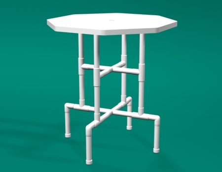 Pvc Bar Height Tables