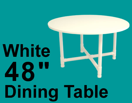 Pvc Round Dining Tables