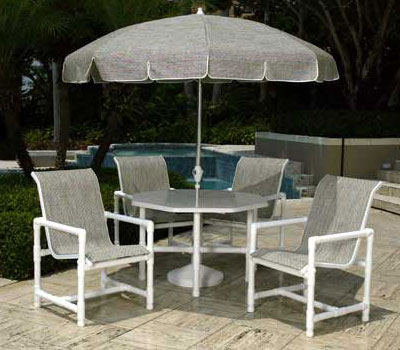 Pvc sling Pvc pipe outdoor furniture