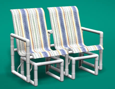 Call Patio Direct At 866 278 6708 To Order Your Sling PVC Pipe Furniture