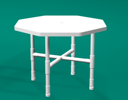 Pvc furniture for Pvc patio table