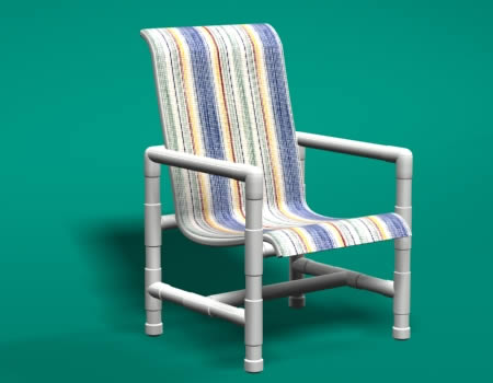 Pvc furniture for Pvc pipe lounge chair